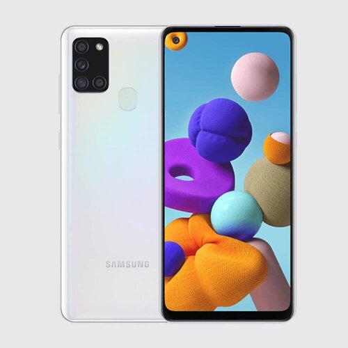 Samsung Galaxy A21s 3GB/32GB A217 Dual SIM, Biela - SK distribúcia
