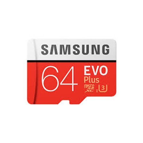 MicroSDHC karta SAMSUNG 64GB Class 10 EVO Plus + adaptér