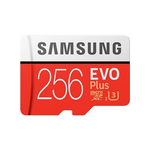 MicroSDXC karta SAMSUNG EVO Plus 256GB + adaptér