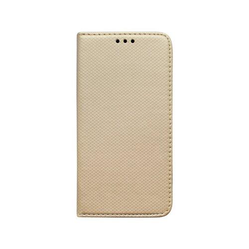 Samsung Galaxy A11 bočná knižka zlatá, vzorovaná