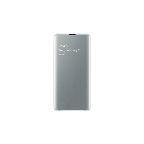 EF-ZG975CWE Samsung Clear View Cover White pro G975 Galaxy S10 Plus (Pošk. Blister)