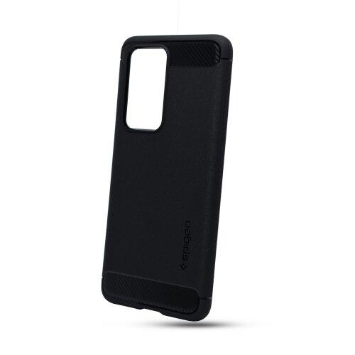 Huawei P40 Pro čierne matné gumené puzdro