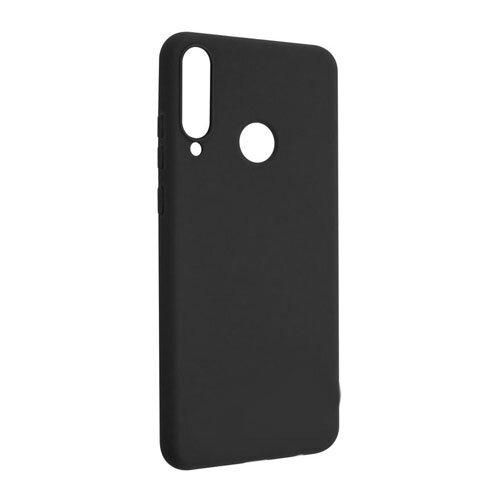 Huawei Y6p čierne gumené puzdro, matné