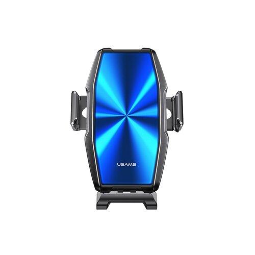 Držiak do auta s bezdrôtovým nabíjaním USAMS CD134 FOD Zenya 15W Modro-sivý