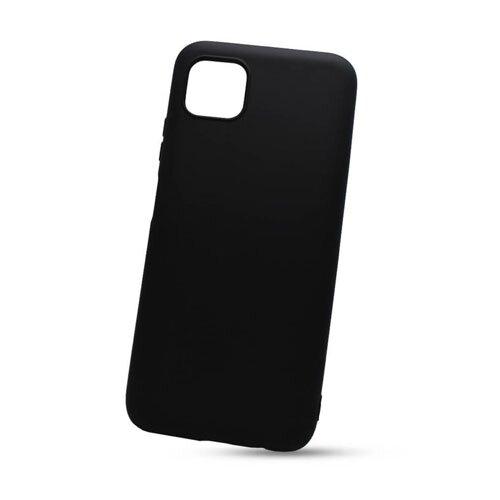 Huawei Y5p čierne gumené puzdro, matné
