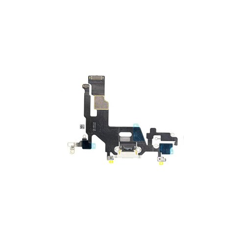 Apple iPhone 11 - Flex Kábel Konektora Nabíjania - Biely