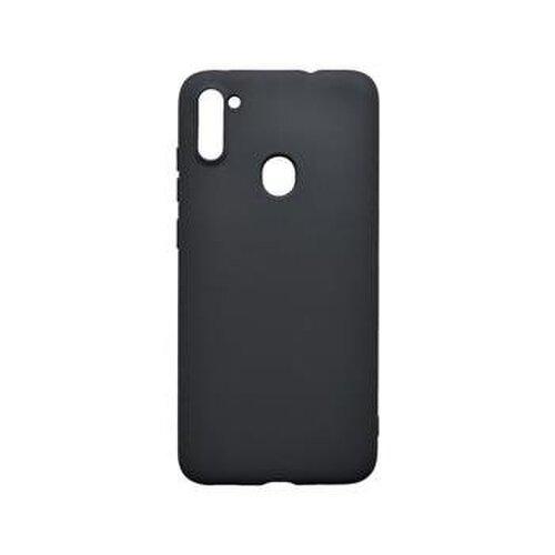 Motorola G8 čierne gumené puzdro, matné