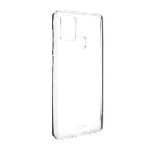 Samsung Galaxy A21s gumené puzdro nelepivé, priehľadné