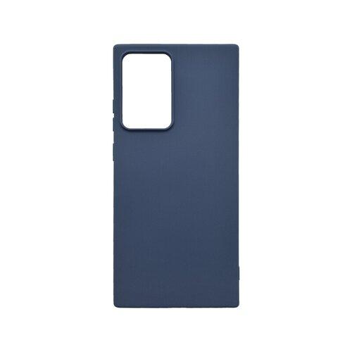 Samsung Galaxy Note 20 Ultra modré gumené puzdro, matné