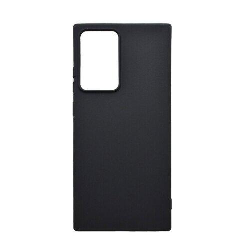 Samsung Galaxy Note 20 čierne gumené puzdro, matné