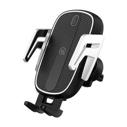 Držiak do auta s bezdrôtovým nabíjaním USAMS CD100 Automatic Touch Čierny