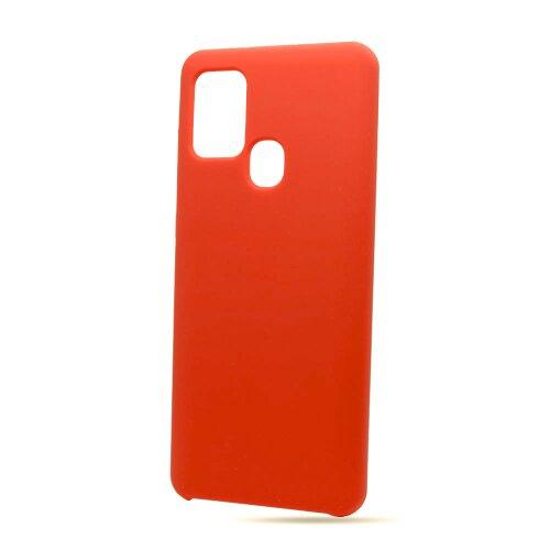 Puzdro Liquid TPU Samsung Galaxy A21s A217 - červené
