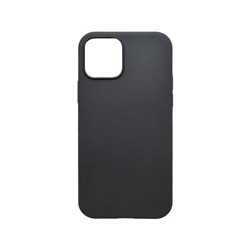 Iphone 12 Pro Max čierne gumené puzdro, matné