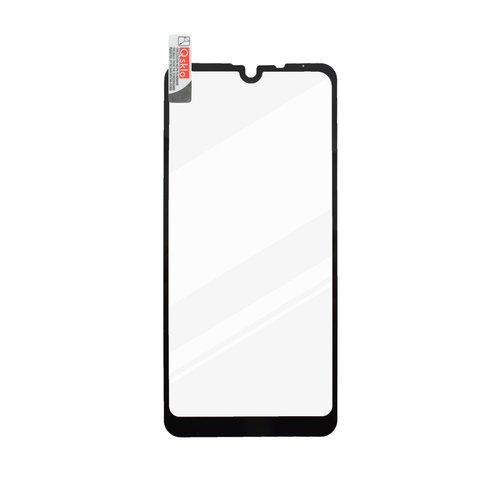 Ochranné sklo LG Q60 čierne, full glue