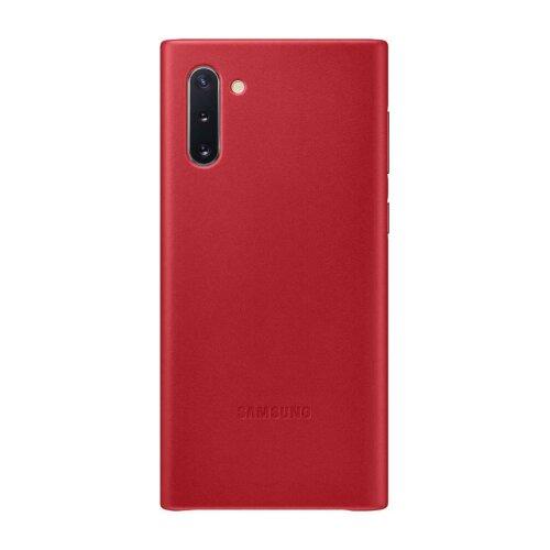 EF-VN970LRE Samsung Kožený Kryt pro N970 Galaxy Note 10 Red