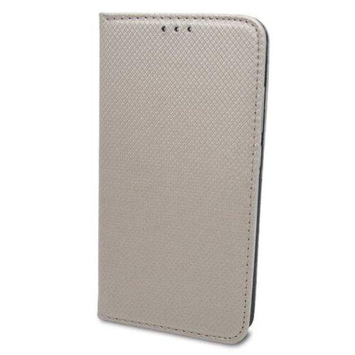 Motorola E6s zlatá bočná knižka, vzorovaná