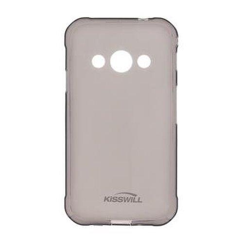 Kisswill TPU Pouzdro pro Motorola G8 Plus Black