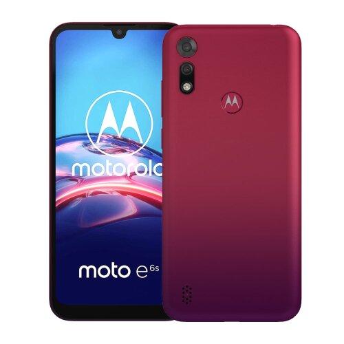 Motorola Moto E6s 2GB/32GB Dual SIM, Tmavo Červený - SK distribúcia