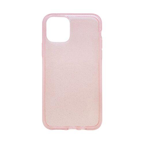 Silikónové puzdro Crystal iPhone 11 ružové