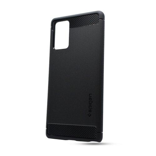 Puzdro Spigen Rugged Armor Samsung Galaxy Note 20 N980 - čierne