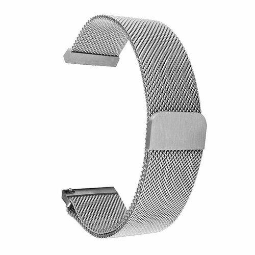 Tactical 621 Loop Magnetický Kovový Řemínek pro Xiaomi Mi Watch Silver