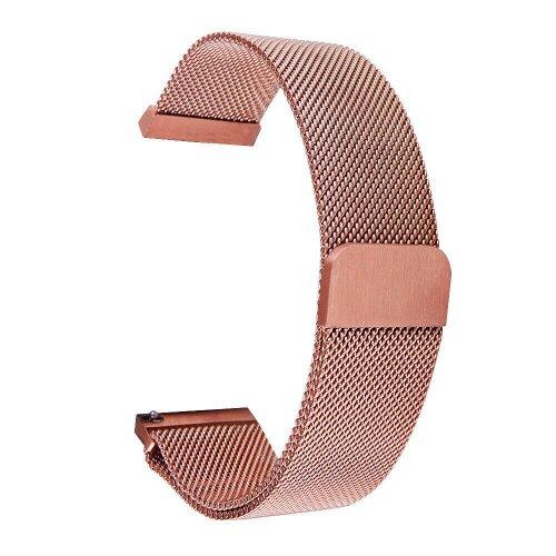Tactical 623 Loop Magnetický Kovový Řemínek pro Xiaomi Mi Watch Rose Gold