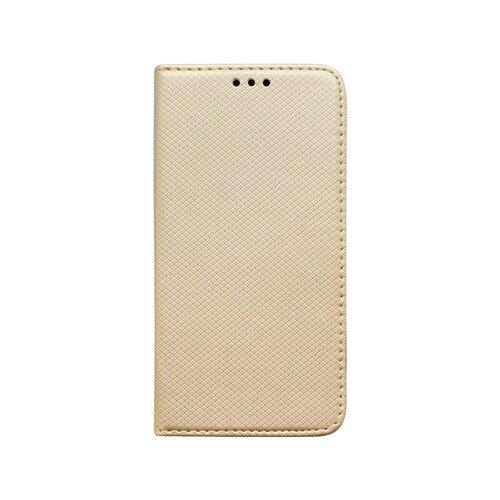 Knižkový obal Xiaomi Mi Note 10 Pro zlatý, vzorovaný povrch