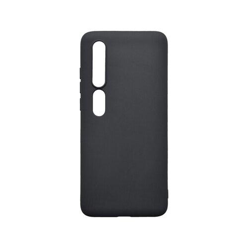 Xiaomi Mi 10 čierne matné gumené puzdro
