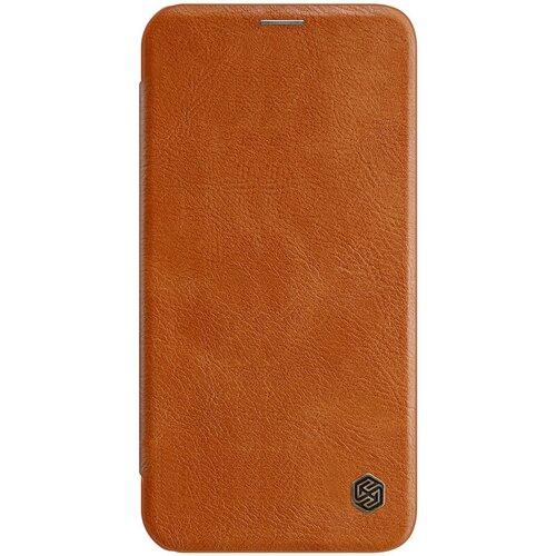 Nillkin Qin Book Pouzdro pro iPhone 12 mini 5.4 Brown