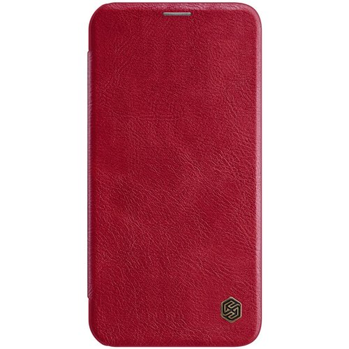 Nillkin Qin Book Pouzdro pro iPhone 12 Pro Max 6.7 Red