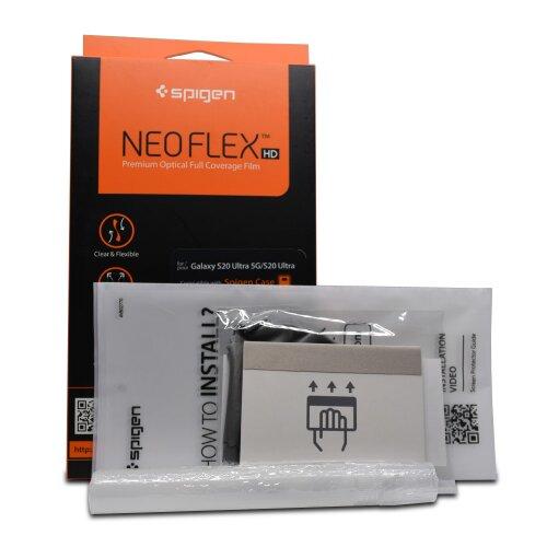 Ochranná fólia Spigen Neo Flex HD Duo Pack Samsung Galaxy S20+ G985 (2ks)
