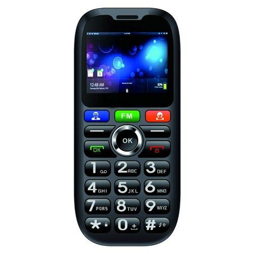 CUBE1 S100 Senior Dual SIM, Čierny