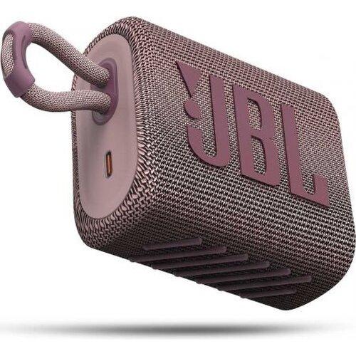 JBL GO3 Bluetooth reproduktor Ružový