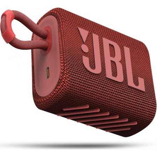 JBL GO3 Bluetooth reproduktor Červený