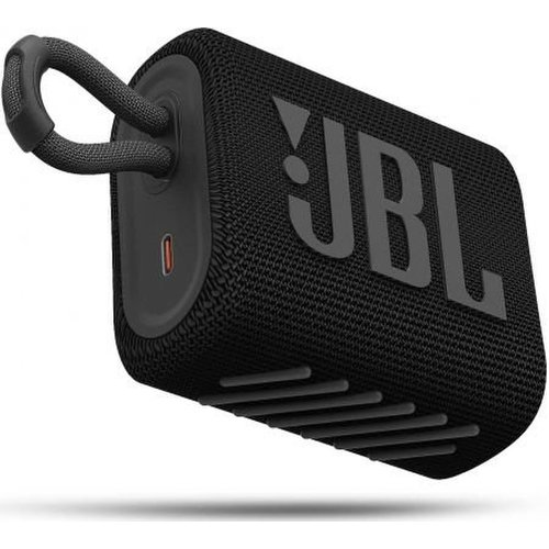 JBL GO3 Bluetooth reproduktor Čierny