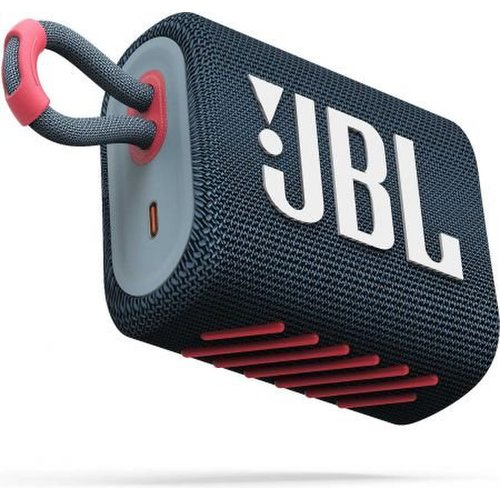 JBL GO3 Bluetooth reproduktor Modrý Coral