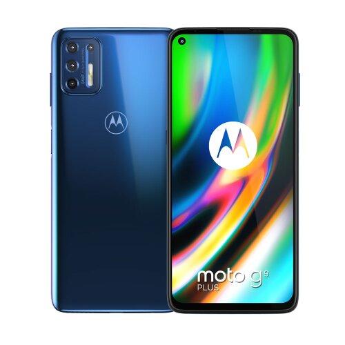 Motorola Moto G9 Plus 4GB/128GB Dual SIM, Modrý - SK distribúcia