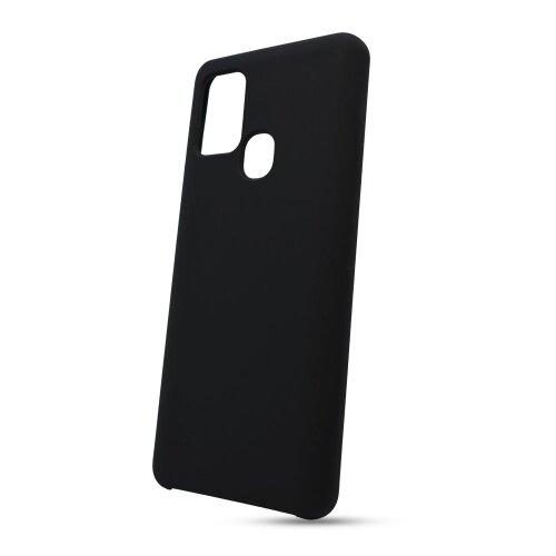 Puzdro Liquid TPU Samsung Galaxy A21s A217 - čierne