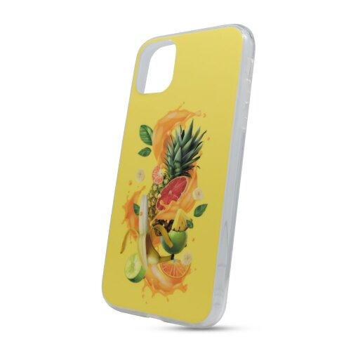 Puzdro Fruit TPU iPhone 11 (6.1) - žlté
