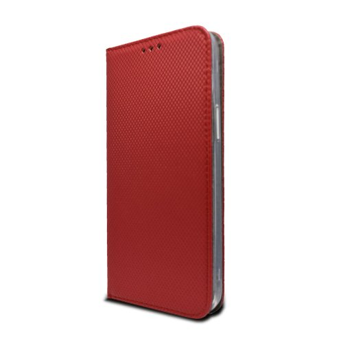 Iphone 12 Mini červená bočná knižka, vzorovaná