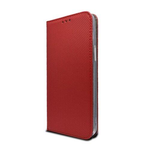 iPhone 12 Pro Max červená bočná knižka, vzorovaná