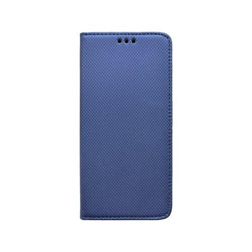 Xiaomi RedMi 9 tm.modrá bočná knižka, vzorovaná