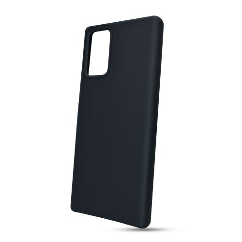 Puzdro Liquid TPU Samsung Galaxy Note 20 Ultra N985 - čierne