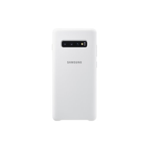 EF-PG975TWE Samsung Silicone Cover pro G975 Galaxy S10 Plus White