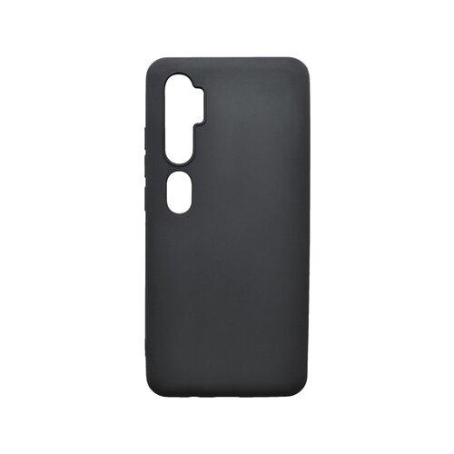 Matný silikónový kryt Xiaomi Mi Note 10 Pro čierny