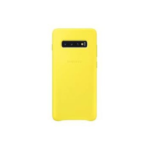 EF-VG975LYE Samsung Leather Cover Yellow pro G975 Galaxy S10 Plus (Pošk. Blister)