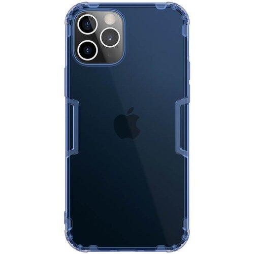 Nillkin Nature TPU Kryt pro iPhone 12 Pro Max 6.7 Blue