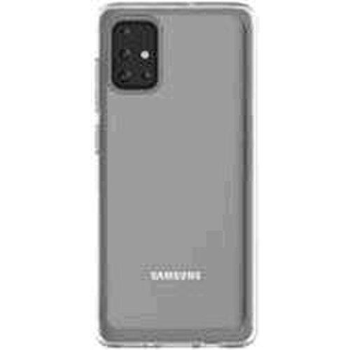 Samsung zadný polopriehladný kryt GP-FPA715KD pre Galaxy A71, transparentné