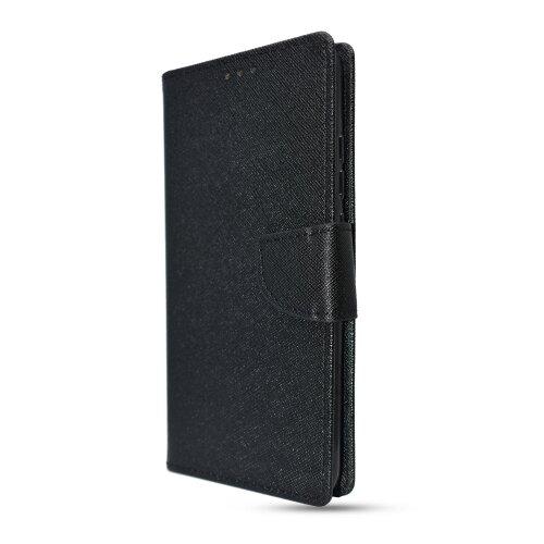 Puzdro Fancy Book Samsung Galaxy A21s A217 - čierne