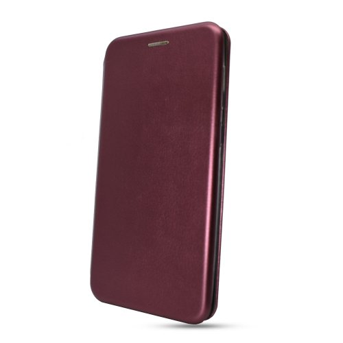 Puzdro Elegance Book iPhone 7/8/SE (2020) - červené (vínové)